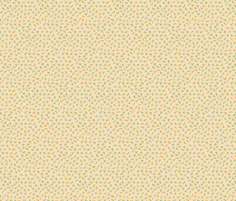 small vintage tulips - colorway21 fabric by rabbitsmoon on Spoonflower - custom fabric