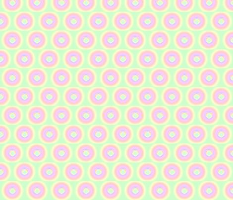 RAINBOW HEARTS fabric by bluevelvet on Spoonflower - custom fabric
