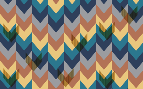 Chevrons In Repeat fabric by stephanie on Spoonflower - custom fabric