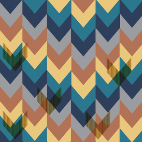 Chevrons In Repeat