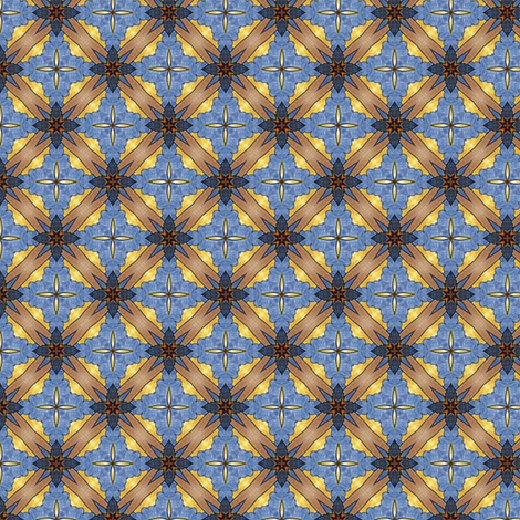 Toshio's Lattice fabric by siya on Spoonflower - custom fabric
