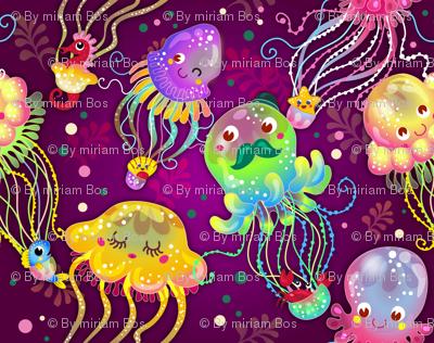 Jellyfish Balloon Parade | Rainbow