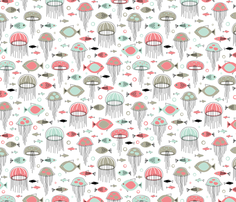 Rush Hour fabric by jennartdesigns on Spoonflower - custom fabric