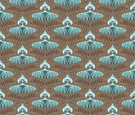 calleis_winter fabric by holli_zollinger on Spoonflower - custom fabric