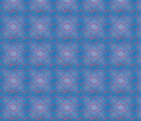 Jellyfish_floral fabric by brandymiller on Spoonflower - custom fabric