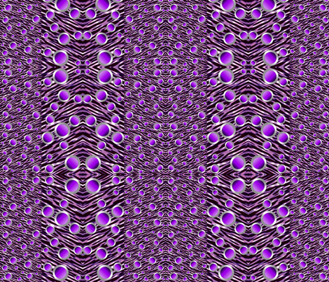 The Purple Parade fabric by whimzwhirled on Spoonflower - custom fabric