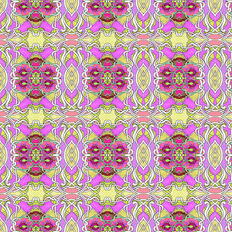 Tangled Up in Pink fabric by edsel2084 on Spoonflower - custom fabric