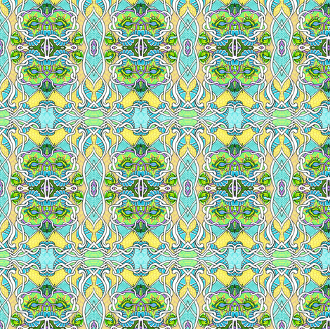Tangled up in Baby Blue fabric by edsel2084 on Spoonflower - custom fabric