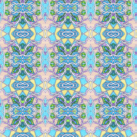 Tangled Up in Art Nouveau fabric by edsel2084 on Spoonflower - custom fabric