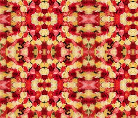fragrent-roses-ed fabric by shaqx on Spoonflower - custom fabric