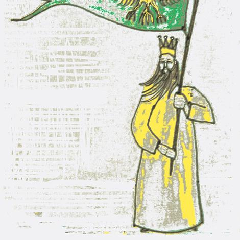 Wenceslaus fabric by boris_thumbkin on Spoonflower - custom fabric