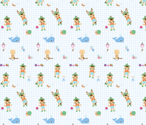 Pinocchio Adventures fabric by fantastictoys on Spoonflower - custom fabric
