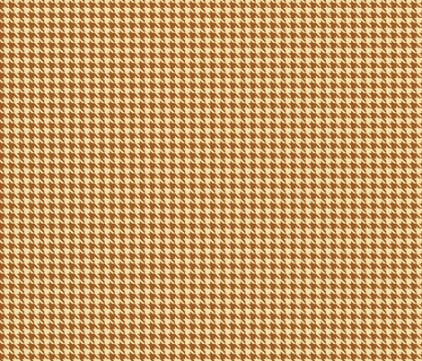 Coffee Houndstooth  fabric by mysteek on Spoonflower - custom fabric