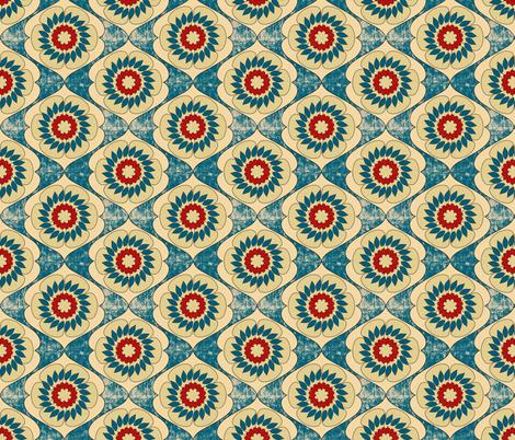 gloriosa_grunge fabric by holli_zollinger on Spoonflower - custom fabric