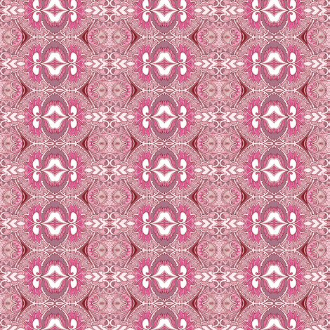 Dusty Pink Girl Girl Thing fabric by edsel2084 on Spoonflower - custom fabric