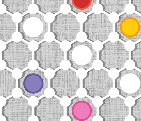 Graphene Urban large scale fabric by spellstone on Spoonflower - custom fabric
