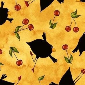 Blackbirds Whimsical