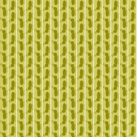 Ant March Green fabric by spellstone on Spoonflower - custom fabric