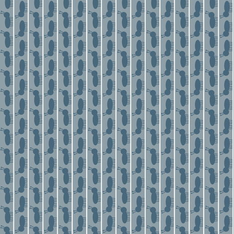 Ant March Grey fabric by spellstone on Spoonflower - custom fabric