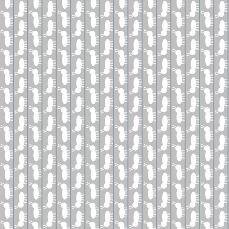 Ant March Light fabric by spellstone on Spoonflower - custom fabric
