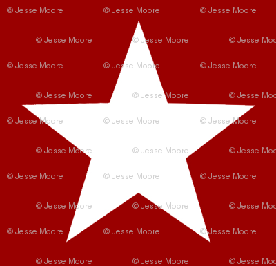 Rocket Ship Star Pattern