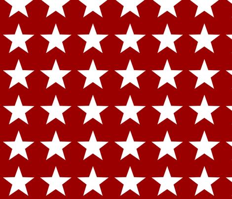 Rocket Ship Star Pattern fabric by jmoore on Spoonflower - custom fabric