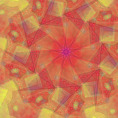 Kaleidoscope Yellows and Oranges