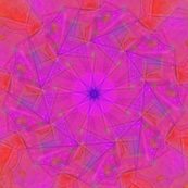 Kaleidoscope Pinks and Oranges