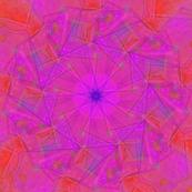Kaleidoscope Pinks and Oranges