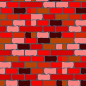 RED BRICK HALF-BRICK