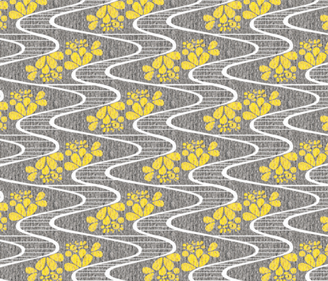 Urban Meanderings fabric by glimmericks on Spoonflower - custom fabric