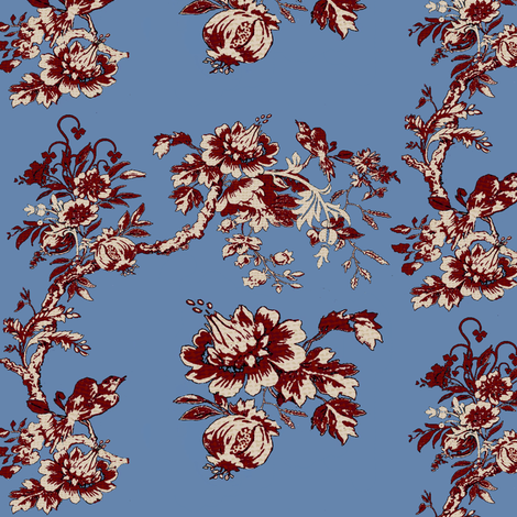 My Home Town / 2 fabric by paragonstudios on Spoonflower - custom fabric