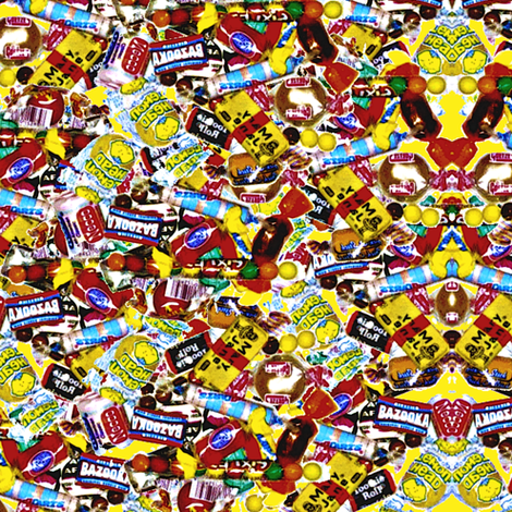 Penny Candy fabric by whimzwhirled on Spoonflower - custom fabric
