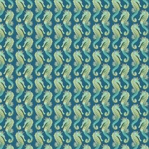 teeny tiny seahorses on parade