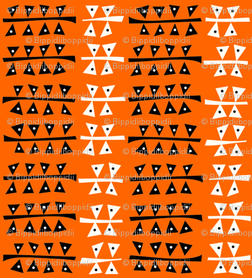 Triangulated (Orange)