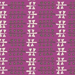 Triangulated (Purple)