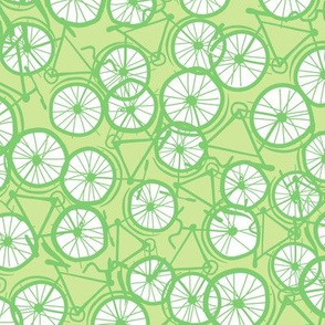 Baby Bicycle Limegreen