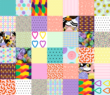 Sweet Shop cheater fabric by glanoramay on Spoonflower - custom fabric