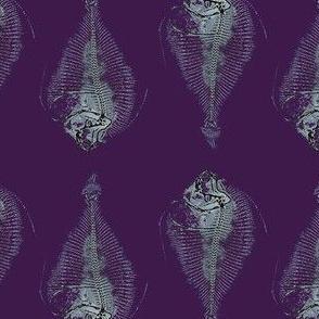fishbone repeat; purple