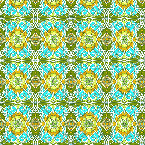 In an English Country Garden fabric by edsel2084 on Spoonflower - custom fabric