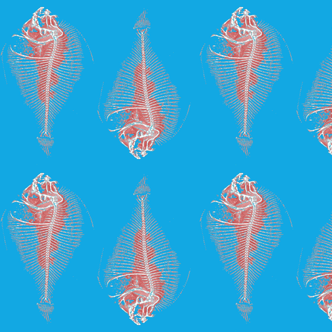 fishbone repeat fillet 2 fabric by nalo_hopkinson on Spoonflower - custom fabric