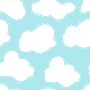 Stitched clouds