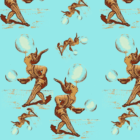 Juggling priorities fabric by nalo_hopkinson on Spoonflower - custom fabric