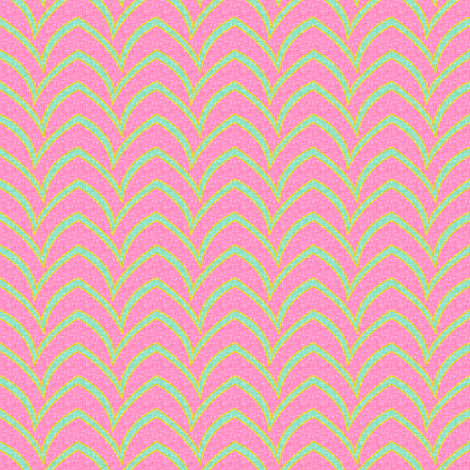 Flying Stripe - Pastel Parasol fabric by glimmericks on Spoonflower - custom fabric
