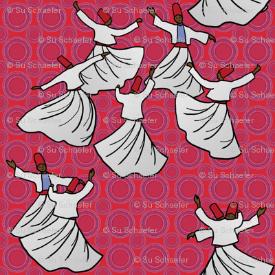Whirling Dervish Competition, 1967 by Su_G