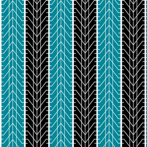 Bike Tread Teal Black