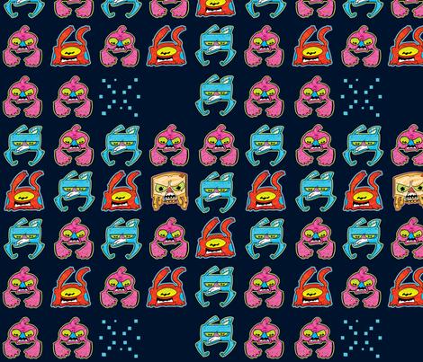 alienaggressor fabric by sewdeadly on Spoonflower - custom fabric