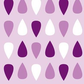 Gouttes violettes