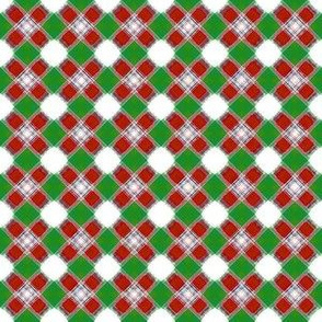 Hugs n Kisses_Plaid__-red_-green