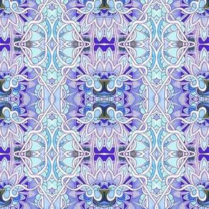 Romantic Blue Floral Hideaway